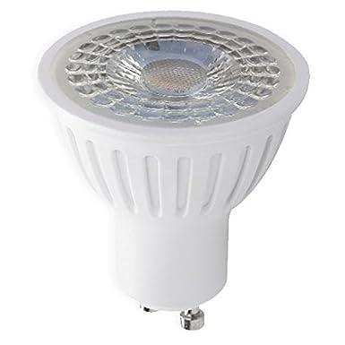 Warmwei/ß LED Erdspie/ßleuchte Au/ßenleuchte Edelstahl Gartenstrahler Bodenleuchte Teichstrahler Rund ESP1 GU10-230V