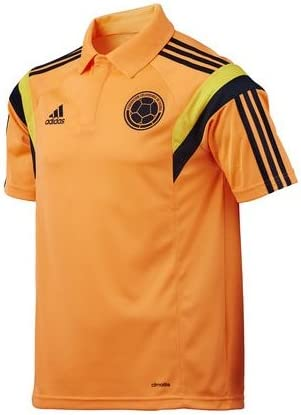 adidas Camisa Polo Seleccion Colombia Narajna F85719 (L): Amazon ...