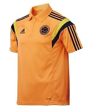 Adidas Camisa Polo Seleccion Colombia Narajna F85719 (L): Amazon.es: Deportes y aire libre
