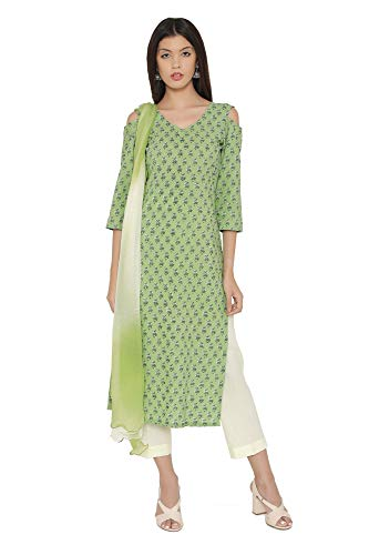 anarkali suits ready made cotton - 4
