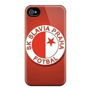 Hard Plastic Iphone 4/4s Case Back Cover,hot Sk Slavia Praha Case At Perfect Diy