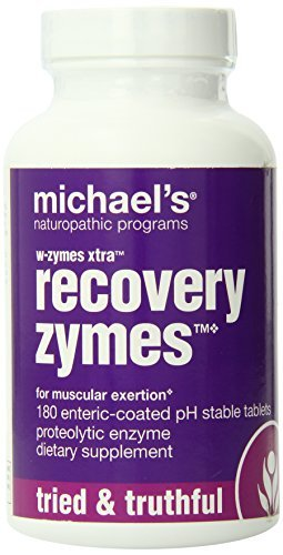 W-Zymes Xtra, Recovery Zymes, 180 Enteric-Coated Tablets by - Coated Enteric Tablets 180