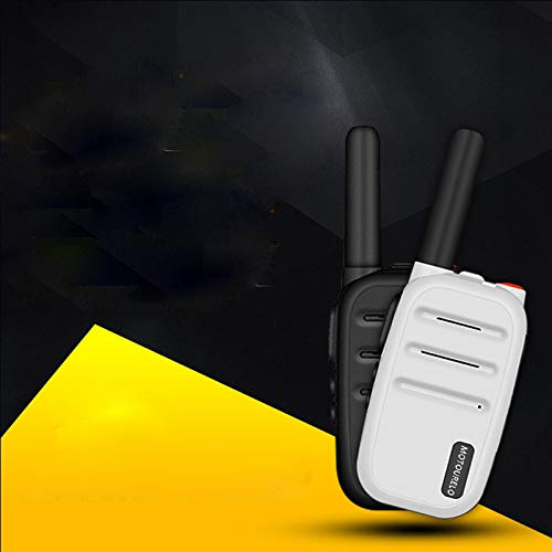 HM2 Children's Walkie-Talkie Mini 5w High-Power Ultra-Thin Small Outdoor Walkie-Talkie, Suitable for Children's by HM2 (Image #1)
