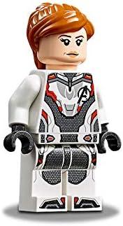 Black Widow 76126 White Jumpsuit LEGO Avengers Endgame Minifigure