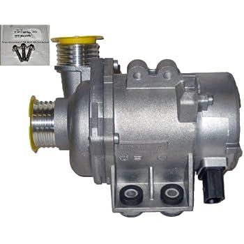 BMW Engine Water Pump Electric Pierburg OEM 7028 51208 / 11517 586925 (NONE Turbo Engines) With Bolt Kit=> 2008-2012 128i / 2006 E90 325i 325xi 330i 330xi ...