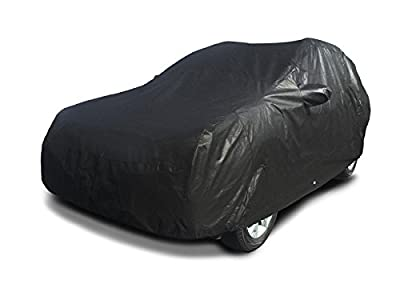 CarsCover 100% Sunblock 2010-2016 Subaru Forester Custom Fit SUV Car Cover Xtrashield Black Covers