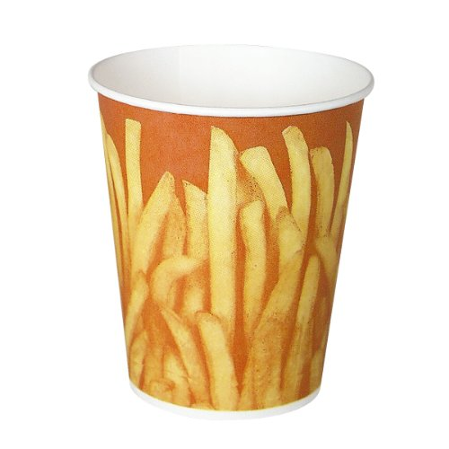 Solo GRS16-00021 16 oz Great Fries Paper Cup (Case of 1000)