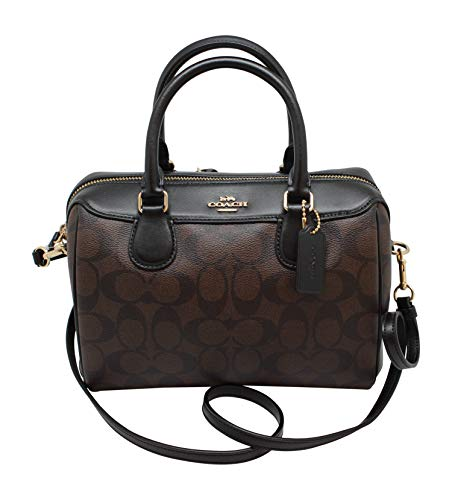 Coach Women's Mini Bennett Satchel No Size (Im/Brown/Black) ()