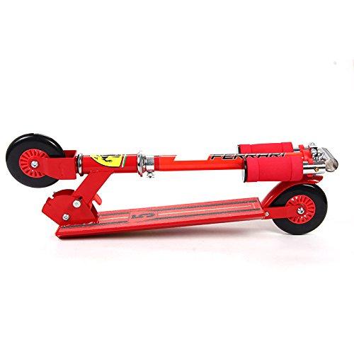 Ferrari Kids Two Wheels Scooter, Red