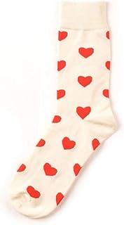 hhsmdaBas àFleurs en Coton à Motifs Love & Heart pour Femmes(5 Paires)