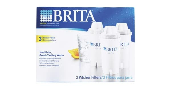 68461eba91b Amazon.com  Brita Pitcher Replacement Water Filters - 3 Pack  Office  Product   Home Improvement