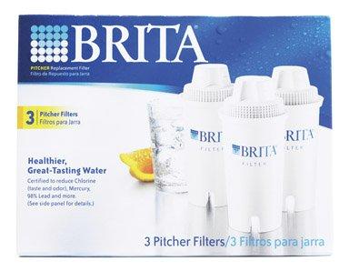 brita pitcher filters 3 pack - 8