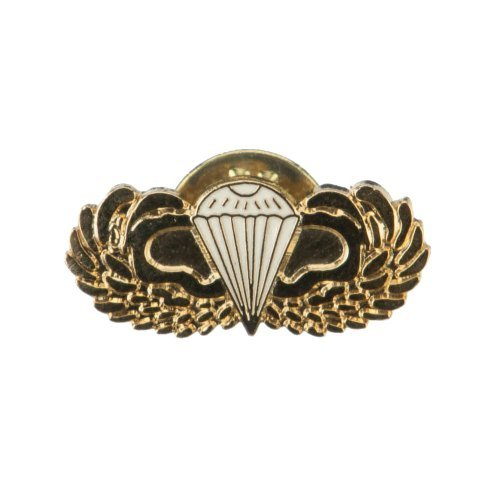US Army Airborne Cloisonne Military Pins - Parawing OSFM