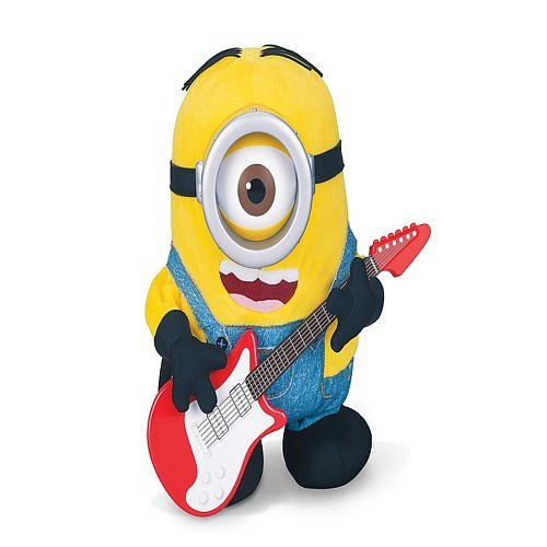 (Minions Movie Rock N Roll Stuart - Rock out with this Interactive Minion! Stuart's a real Rock & Roll Star!)
