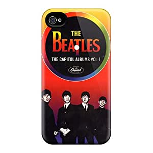 Iphone 4/4s Tni19227zQDp Customized HD The Beatles Series Protective Hard Cell-phone Cases -MansourMurray