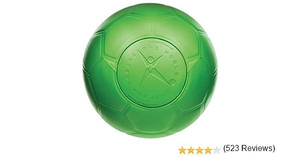 One World Play Project Pelota Ultra Durable de fútbol para niños y ...