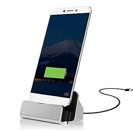 Aventus Black Sony Xperia XZ Type-C Berceau Station de charge Mini Portable Charging Dock Desktop