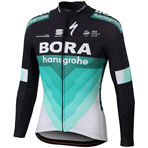 所得急勾配の吸い込む自転車ウェア 2018 Bora Hansgrohe Mサイズ 長袖ジャージ Bodyfit Team