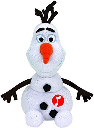 Disney Frozen - Olaf, Peluche con Sonido, 15 cm, Color Blanco (TY 41148TY)