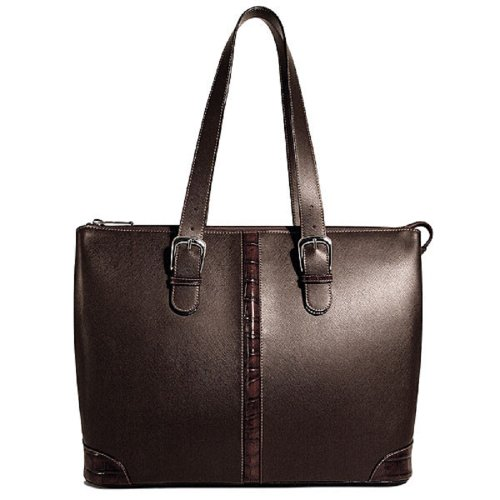 Jack Georges Prestige Madison Avenue Tote - Brown by Jack Georges