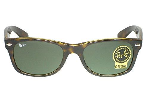 Ray Ban RB2132 New Wayfarer 894/76 Matte Havana Polarized - Ban Ray 894 Polarized Wayfarer Sunglasses Rb2132 76 New