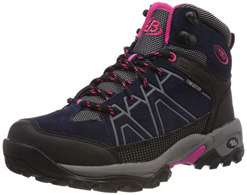 Femme Brütting De Randonnée Cornwell Chaussures schwarz marine Hautes pink Mount Bleu xaYAfwP