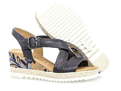 Sandales Confortable Plat Koflo Compensées 831 Femme 22 Gabor D'été qMVGSUpz