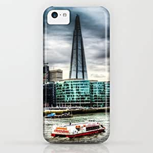 Society6 - The Shard And River Thames iPhone & iPod Case by David Pyatt