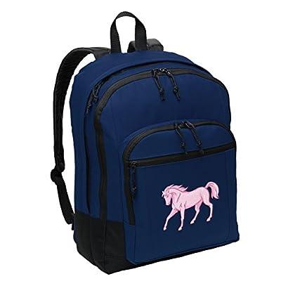 high-quality Classic Horse Backpack Medium Horse Theme Backpack Laptop Sleeve