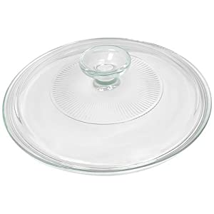 Best Epic Trends 419Q3G8Oh9L._SS300_ Corningware French White 2.5 Quart Fluted Round Glass Lid