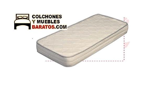 Colchón de Cuna de muelles bonell Kids antiasfixia (115x55cm): Amazon.es: Hogar