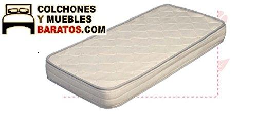 Colchón de Cuna sin muelles Baby Soja antiasfixia (120x60cm): Amazon.es: Hogar
