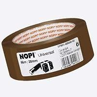 Nopi Universele verpakkingstape, bruin, 66 m: 38 mm