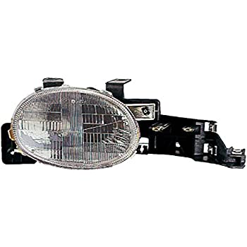 amazon com left side headlight assembly for dodge intrepid 1995 1996 dodge intrepid headlight assembly right side headlight assembly for dodge neon 1995 1996 1997 1998 1999 buyautoparts 16 00626an new