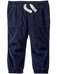 Navy Baby Boys Corduroy Jogger Pants
