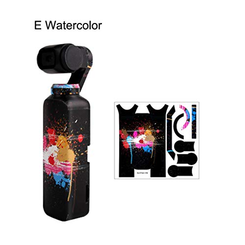 Holiday Best Gifts!!! Jumberri Fashionable Decal Skin Sticker Protective Cover for DJI OSMO Pocket Gimbal PVC