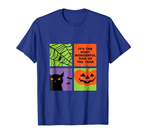 Funny Halloween Quote T-shirt Wonderful Time Of The Year for $<!--$18.99-->