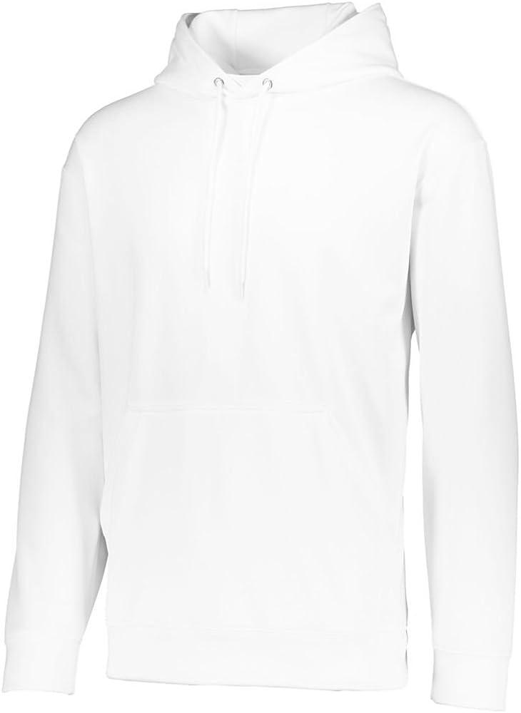 Augusta Activewear Mens Wicking Fleece Hooded Sweatshirt