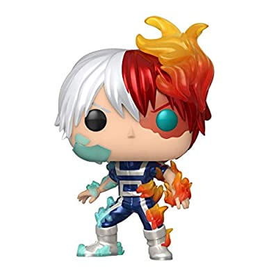 Funko POP! Animation My Hero Academia Todoroki (Metallic), Exclusive: Toys & Games
