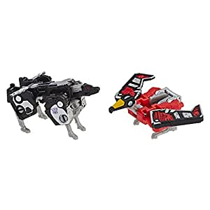 Transformers Toys Generations War for Cybertron: Siege Micromaster Wfc-S18 Soundwave Spy Patrol 2 Pack Action Figure - Adults & Kids Ages 8 & Up, 1.5""