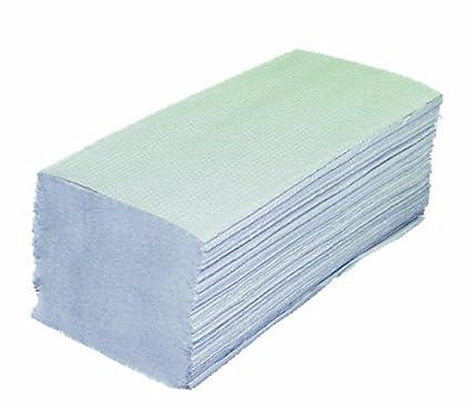 Toallas Plegables 2 capas reciclado 10 Pack (=1600 hojas) Papel Toallas de mano
