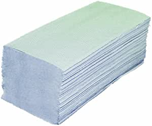 Toallas Plegables 2 capas reciclado 10 Pack (=1600 hojas) Papel ...