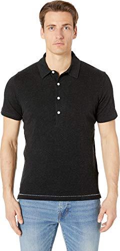 Billy Reid Men's Cotton/Cashmere Polo Black X-Large