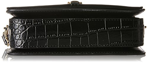 Cavalli CLASS Damen Milano Rmx Schultertasche, Schwarz (Black), 4x13.5x18.5 cm