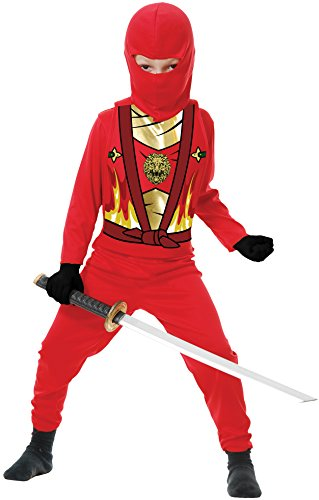 Charades Baby Ninja Avenger Series 4 Costume, Red, Toddler (1 to 2 Years)