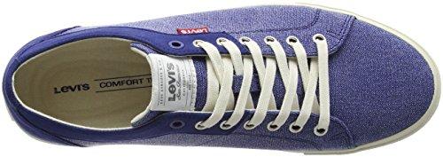 Uomo Blu Royal Woods Levi's Blue Sneaker HqBCE