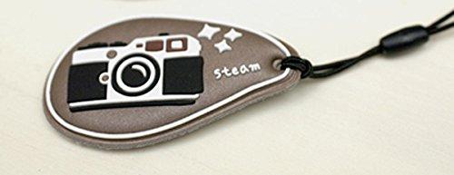 超レアカメラ/デジカメ携帯ストラップ茶色