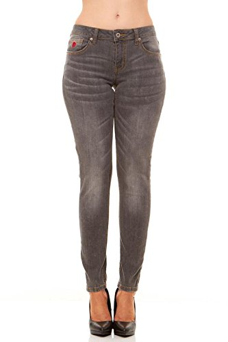 Ultra Low Rise Flare Jeans - 6