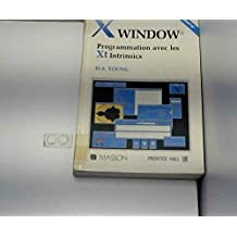 x window, prog. avec les xt intrinsics
