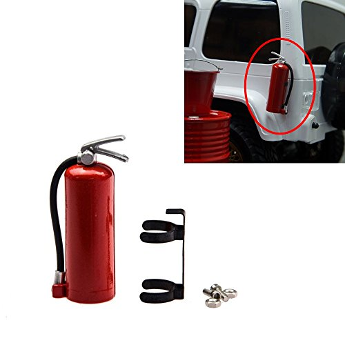 FAST-RC 1pcs 1/10 Scale Plastic Fire Extinguish for 1:10 RC Rock Crawler Car Accessory